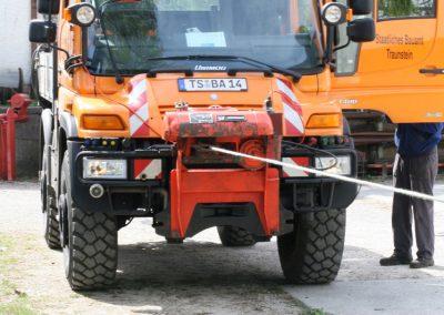 Sicherheitsprüfung Seilwinden gemäß BGV D8 3891