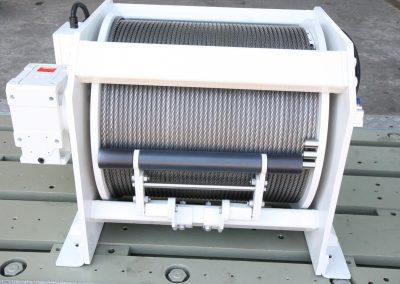 Extruder Abzugseilwinde  MHB-HPC Kuli 30 kN