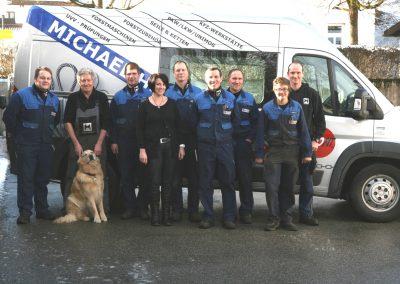 Das Huber-Team aus Bergen im Chiemgau